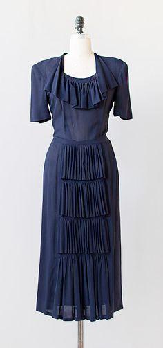 recital preparations | vintage 1940s dress | 1940s dress