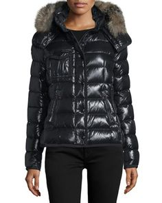 Armoisette Puffer Jacket  by Moncler at Neiman Marcus.