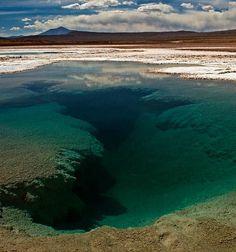 Ojo de mar en Tolar Grande - Salta - Argentina, donde se encuentran algunos de… …