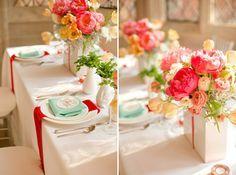 Farbenfrohe Vintage Hochzeit | Friedatheres