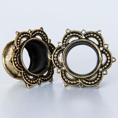 Hey, I found this really awesome Etsy listing at https://www.etsy.com/listing/216643201/esha-brass-plugs-ear-plugs-ear-gauges