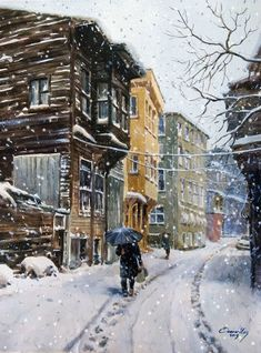 Güzi de - Google+ / by Turkish painter Ömer Muz /Watercolor Painting