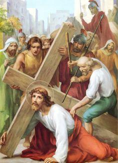 """3 + Camino de oración que busca adentrarnos en la meditación de la Pasión de Nuestro Señor Jesucristo en su camino al Calvario. """"Estaciones"""" del Via Crucis."""