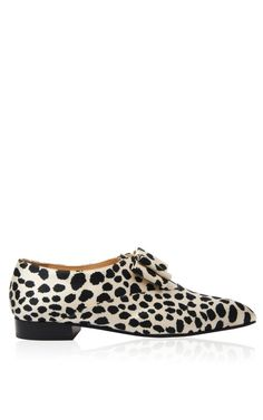 Curated Collection:            Boy Crazy  Trunkshow Rosa Flat In Leopard on Moda Operandi