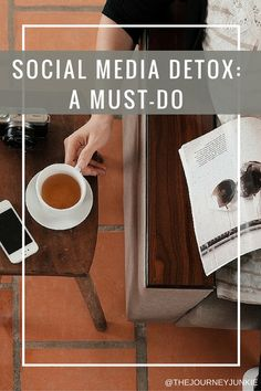 Social Media Detox: A Must-Do - The Journey Junkie - Join me & detox from your everyday social media habits! Delete your apps, stop scrolling, refocus y - Quitting Social Media, Social Media Break, Social Media Detox, Social Media Tips, Social Media Marketing, The Journey, Detox Challenge, 30 Day Challenge, Phone Detox