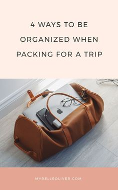 4 Ways to be Organized when Packing for a Trip Be Organized, Night Routine, Travel Organization, How To Wake Up Early, Self Care Routine, Successful People, Best Self, Healthy Habits, Personal Development