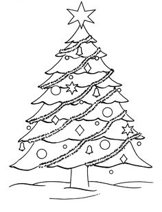 free printable christmas tree template