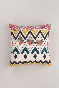 If zig-zag is your bag, this handmade cushion cover is the perfect marriage of fun and a bold abstract design that is great for a Scandi-Boho chic inspired room