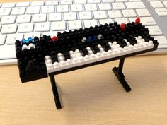 Two of the best things in this world.   Lego and synthesizers