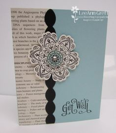 Cute use of book page or printout