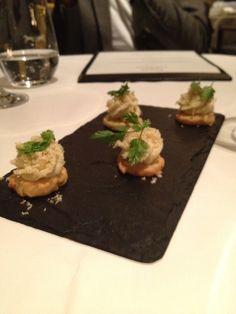 Crab Mousse Canapes - London