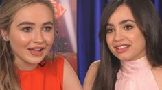 """Sabrina Carpenter & Sofia Carson SPILL DETAILS """"Adventures in Babysitting"""" Interview - YouTube Disney Channel Original, Original Movie, Sabrina Carpenter, Adventures In Babysitting, Sofia Carson, Celebs, Celebrities, Role Models, Movies And Tv Shows"""