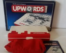 UPWORDS DELUXE - 3D WORD BUILDING BOARD GAME - ELECTRONIC SCORING & TIMER - 2 PACKS OF TILES SEALED - COMPLETE VGC