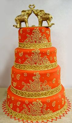 #Indian #Wedding #Cakes