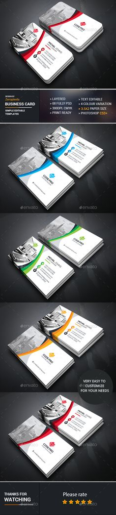 Business Card Template PSD. Download here: https://graphicriver.net/item/business-card/17303841?ref=ksioks