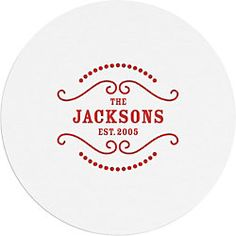 Hostess Gifts Custom Coasters - Paper Source