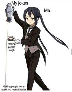 Hahahaha Humor Anime Meme - R/anime_Irl Memes Anime Meme, Funny Anime Pics, Otaku Anime, Anime Art, Really Funny Memes, Stupid Funny Memes, Funny Relatable Memes, Very Funny Pics, Funniest Memes