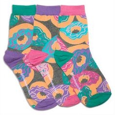 Girls' Socks | Donuts Smelly Ankle Socks