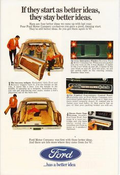 1967 Ford Station Wagon Ad