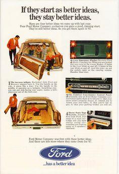 1967 Ford Station Wagon Ad