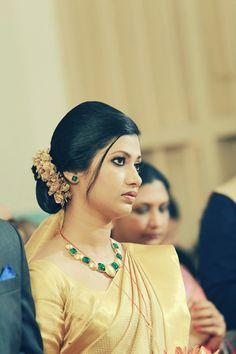 Kerala christian bride.....Elegant pretty bride...just woow