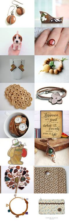 Brown tones... by Nilgun on Etsy--Pinned with TreasuryPin.com