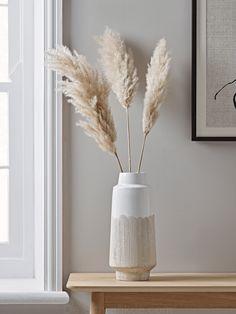 Resist Glaze Vase - Slim - NEW Resist Glaze Vase – Slim – New Neutral Noir The Effective Pictures We Offer You About littl - Home Interior, Interior Decorating, Interior Design, Objet Deco Design, Living Room Decor, Bedroom Decor, Grass Decor, Home And Deco, Home Decor Inspiration