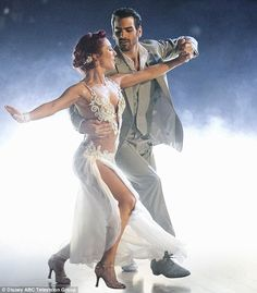 Switch up: Nyle danced with Sharna Burgess after building a bond with Peta Murgatroyd