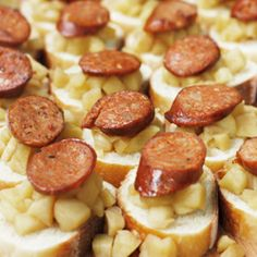 Baguettes with Andouille and Apple Compote – a  Sweet and Savory Summer Hors D'oeuvre