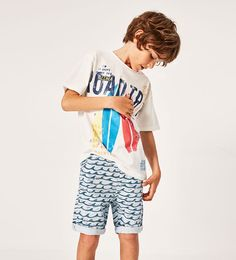 """Zara Boys """"Holidays collection"""" Summer 2017 – kids on the runway Fashion Kids, Young Boys Fashion, Baby Boy Fashion, Toddler Fashion, Fashion Dolls, Cheap Kids Clothes Online, Kids Clothes Sale, Boys Clothes Style, Boys Summer Outfits"""