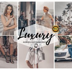 5 luxury Preset for Mobile + Desktop for Lightroom. Photography Editing, Photo Editing, Best Mobile, Lightroom Presets, Your Image, Instagram Feed, Your Photos, Filters, That Look