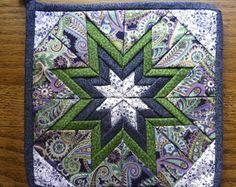 Amish Quilt Giant Dahlia Pattern by QuiltsByAmishSpirit on Etsy