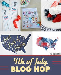 4th of July crafts, recipes, printables and more