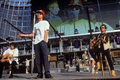 Junuary 1995. The Rolling Stones in México City Mexico.