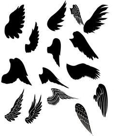 tattoo-vorlagen-fluegel-motiv-verschiedene-designs