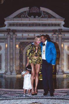 Jay-Z and family