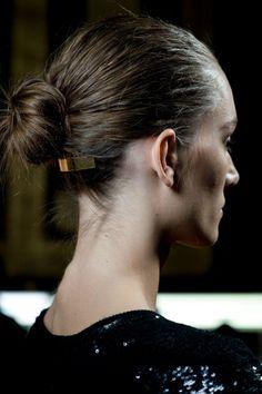 Coiffure facile : le chignon de danseuse