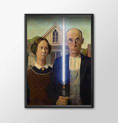 Star Wars Art - Alternative Universe 4 - Star Wars Gothic by ShamanAlternative on Etsy