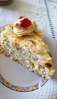 Greek Desserts, Summer Desserts, Greek Recipes, Greek Cookies, Cakes And More, Almond, Cooking Recipes, Sweets, Bread
