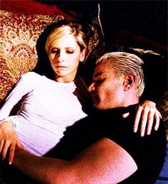 I think this is my favorite picture of Buffy and Spike