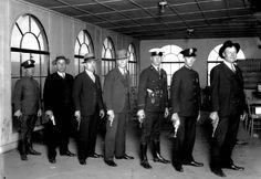 houston history photos | Houston Police Pistol Team 1928 From Left to Right Buffalo Huddleston ...