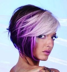 Hair I want... wonder if the platinum blond would work on my skintone?