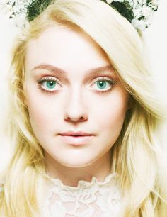 Dakota Fanning will play the role of Alice perfectly. She has the natural blonde hair that the character of Alice has. Also she isn't too tall, so she can still be scene as a young girl.
