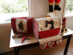 Nice sewing machine covers.