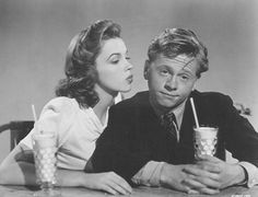 Judy Garland and Mickey Rooney <3333