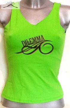 5 darabos Dilemma női felső csomag, elasztikus anyagból, S-s méretben.