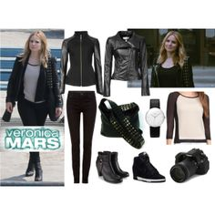 """Veronica Mars Movie Style"" by morganhsa on Polyvore"