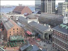 Faneuil Hall Marketplace. We spent a day here bettween this and Quincy Market.