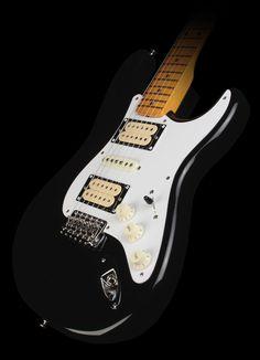Fender Artist Series Dave Murray Stratocaster Electric Guitar Black