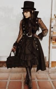 Image result for Steampunk Fashion Women